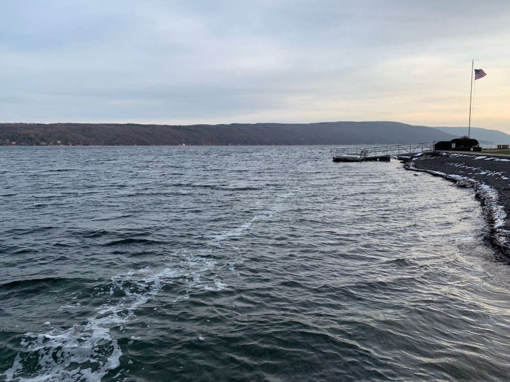 Canandaigua Lake in the Finger Lakes